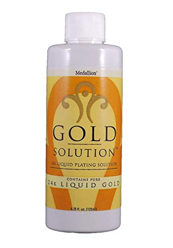 (Deluxe Liquid Gold Solution 24 Kt. 4 Oz. By Medallion Brand)