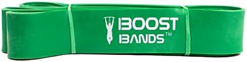 """#1 Orange #2 Set of 5 Bands Boost Bands 41"""" Loop Pull Up Assistance Bands"""