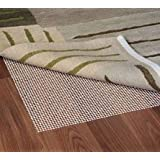 Grip-It Ultra Stop Non-Slip Rug Pad for Rugs on Hard Surface Floors, 4 by 6-Feet, Natural