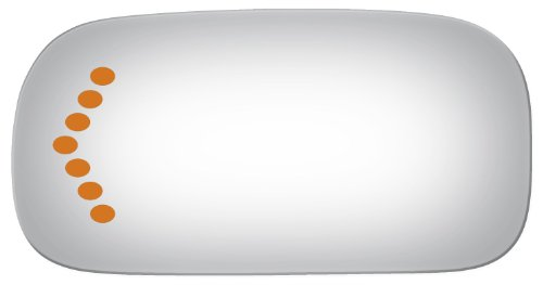02-05 Cadillac Deville Left Driver Direct Fit Over Lens w/ Signal See - Yourself Online Mirror See