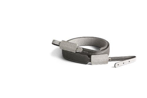 UPC 050332408135, Olympus 260313 Camera Neck EZ Strap (Gray)