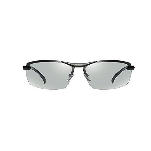 de Lunettes Photochromic black MINCL Lens soleil Homme g7qad5x5w
