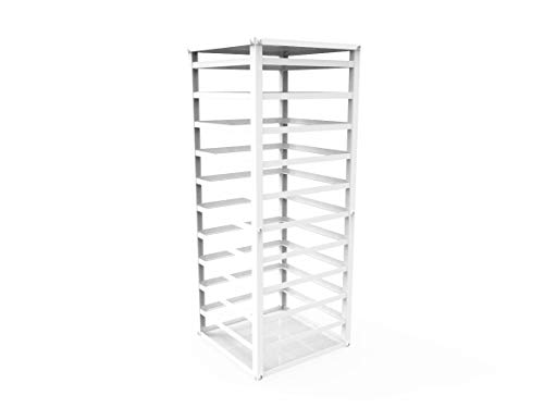 (FixtureDisplays Fully Assembled Metal Displays, Counter top Earring Card Spinning Retail Rack Ship Assembled 12088)