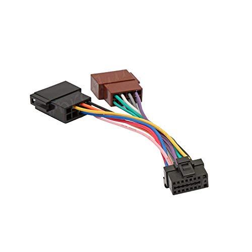 Inex Alpine Pin ISO Wiring Harness Connector Adaptor Car Stereo Radio Loom AL101:
