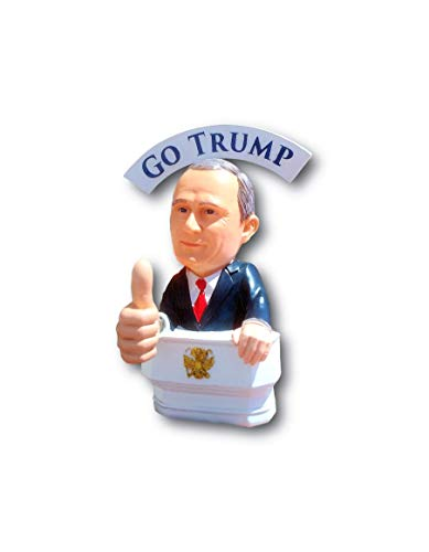 (Bobble Fingers Vladimir Putin Bobble Doll - Bobblehead Style GO Trump Thumbs UP BOBBLING Hands - Limited Edition Large Statue Gift Box )