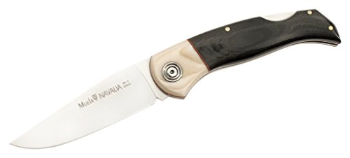 Muela Navalia-10M.B Folding Blade Hunting Knife With Leather Sheath, 4