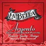 LaBella SH Argento Extra Fine Silver Plating - Medium-Hard Tension