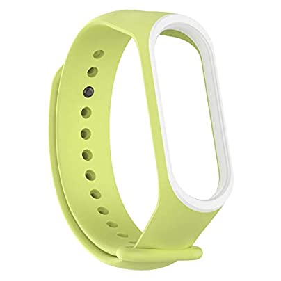 ghfcffdghrdshdfh colors Wrist For Xiaomi Rubber Band Wristband Smart Sports Bracelet Cloverclover Estimated Price £1.10 -