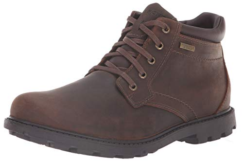 Rockport Men's Rugged Bucks Waterproof Boot,Tan,10.5 M US