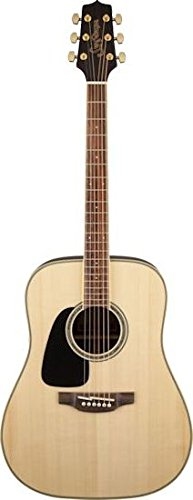 (Takamine GD51LH-NAT Acoustic Guitar Left-Handed Dreadnought, Natural)