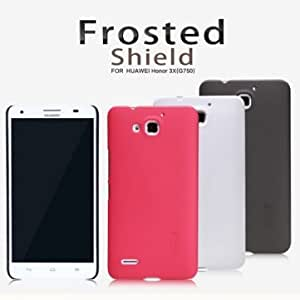 NILLKIN Super Frosted Shield Protective Case For Huawei 3X G750 --- Color:Red