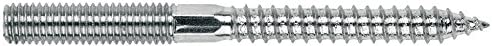 Tirafondo doble rosca M10 x 80 Index ESDR10080