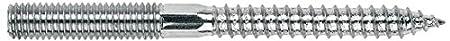 Index Es-Dr - Espá rrago de doble rosca m8 x 120, 120 unidades