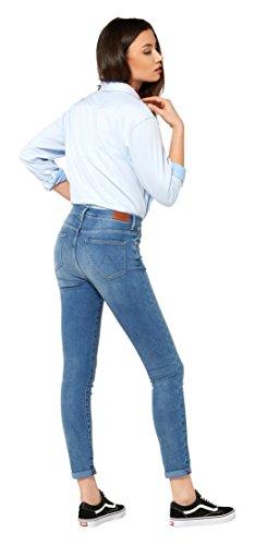 Donna Blu Jeans 5w Wrangler Skinny Rinsewash salty wqAa7ZH