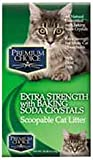 Premium Choice Extra Strength with Baking Soda Scoopable Cat Litter, 25 Pound Bag by Premium/Cat Tails Litter