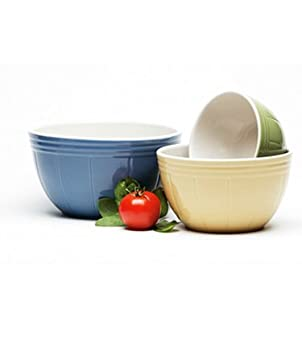 Mixing Bowl Set By Mayfair and Jackson  sc 1 st  Amazon.ca & 3 pc. Mixing Bowl Set By Mayfair and Jackson: Amazon.ca: Home \u0026 Kitchen