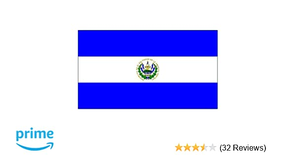 Amazon El Salvador National Country Flag 3 Foot By 5 Foot