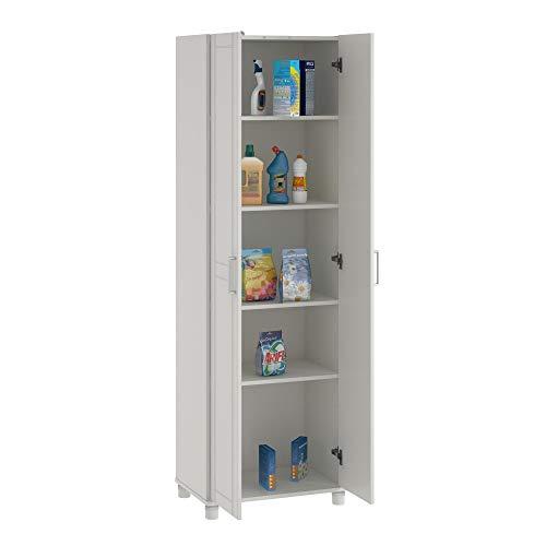 "Callahan 24"" Utility Storage Cabinet, White"