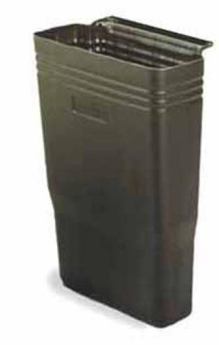 Continental 5812BK Black Refuse Bin for 5810 Cart