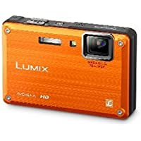 Panasonic Lumix DMC-TS1 12MP Digital Camera with 4.6x Wide Angle MEGA Optical Image Stabilized Zoom and 2.7 inch LCD (Orange) Review Review Image