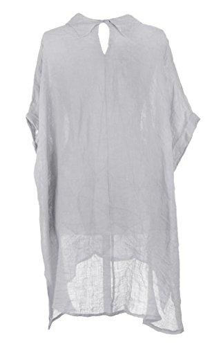 TEXTUREONLINE - Camisas - Básico - para mujer gris claro