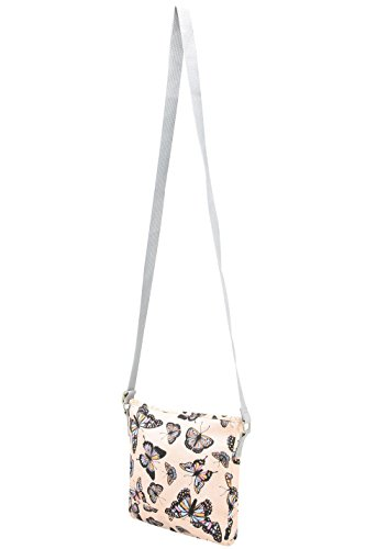 Bag Body Canvas Women's Pink Butterfly Print Yours Cross Clothing Ogqn0