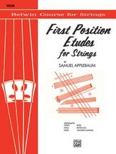 Applebaum, Samuel - First Position Etudes For Strings for Violin - Belwin/Mills Publication