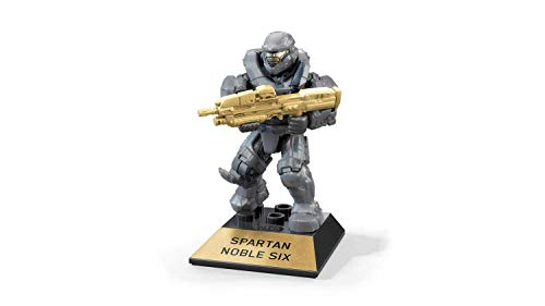 Mega Construx Halo Heroes Pro Builders Series 10 Spartan Noble Six Figure GFT37 (6 Series Halo)