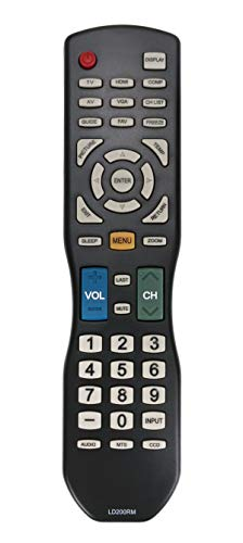 AULCMEET TV Remote Control LD200RM LD220RM Compatible with A