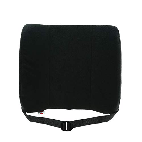 Core Products Bucket Seat SitBack Rest, Deluxe - Black