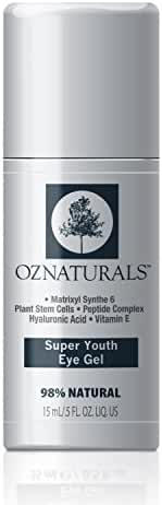 OZNaturals Eye Gel Eye Cream - For Dark Circles, Puffiness, Wrinkles - This Anti Wrinkle Eye Gel Is Considered To Be One Of The Most Effective Anti Aging Eye Creams Available!