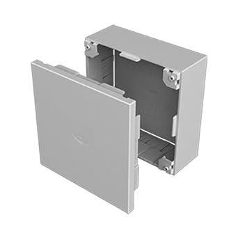 Unex 78457-04 U24X Caja Conexión y Derivación, Gris, 110 mm Altura x 110 mm Ancho: Amazon.es: Industria, empresas y ciencia