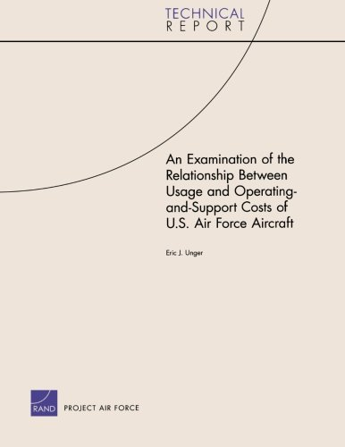 An Examination of the Relationship Between Usage and Operating-and-Support Costs of U.S. Air Force Aircraft (Technical R