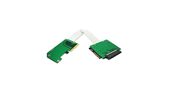 U.2 SFF-8639 NVMe SSD to PCI-e 4X Adapter with Cable
