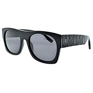 Alexander McQueen MCQ 0022/S 64H Matte black Rectangle Sunglasses
