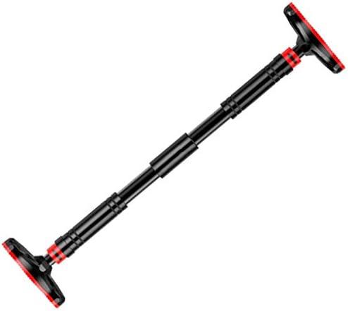 ドアジム 懸垂バー ドア 水平バー ドアジム 鉄棒 ぶら下がり健康器 ウルトラスポーツ 懸垂バー ドアジム 耐荷重100kg/150kg ネジ止め・つっぱりどちらでも使用できる (Color : Black, Size : 93~113cm)