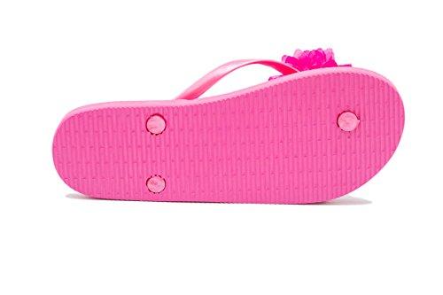 33 Las Totalizador 14 Chanclas Rosa Del Color Mujeres De Compras Xh De Del Cms Playa Verano Para Establece De Diseño Xd Del Con 46 Hombro Bolsas De Bolsa Flores L 7xBRtqYx