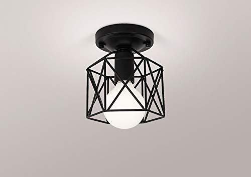 EASTYY Aisle Lights Home Entrance Light Creative Personality Balcony Chandelier Hall Corridor Nordic Ceiling Lamp Nordic Style Modern Restaurant Simple Lantern Bedroom Burner Household Tube