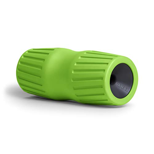 RAD Axle I Travel Foam Roller for Hips, Back, Spine, Legs, Shoulder, Neck, Pecs and Traps Self Myofascial Release, Massage Mobility and Recovery