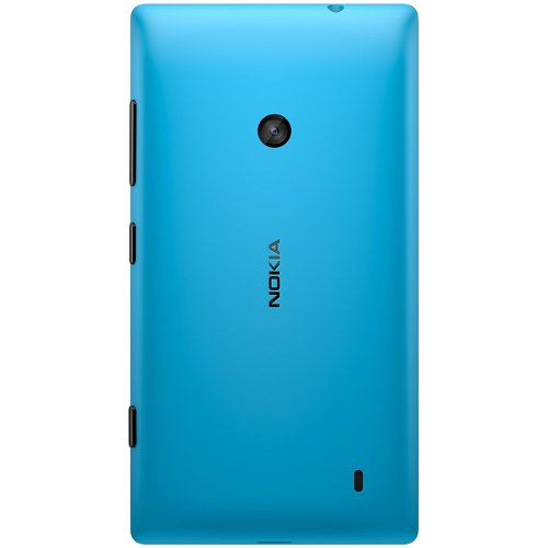 Nokia Lumia 520 Unlocked GSM Windows 8 Smartphone - Cyan Blue