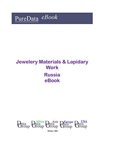 Jewelery Materials & Lapidary Work in Russia: Product Revenues