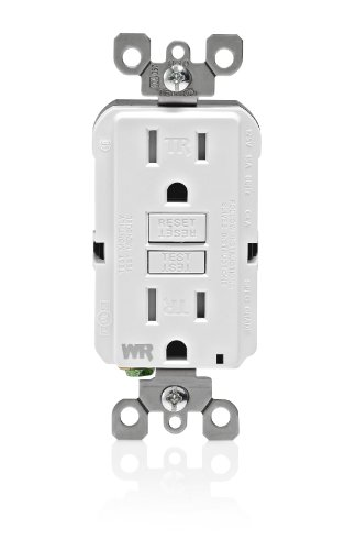 Leviton WT599 W Weather Resistant Tamper Resistant Receptacle