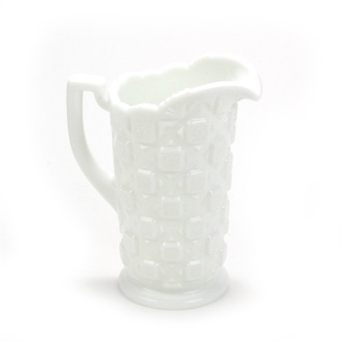 Old Quilt by Westmoreland, Glass Pitcher, 40 oz. - Pitcher Glass Quilt