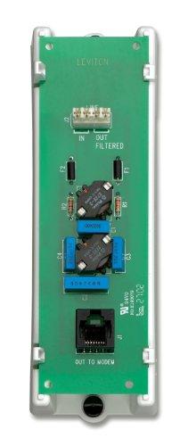 Leviton 47616-DSB DSL Filter Module, White