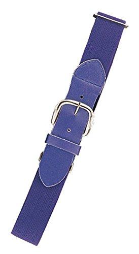 Champion Sports Elastic Uniform Belt, Purple, Youth