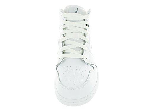 white Jordan Air 1 garçon White Cool NIKE Sport Gris BG Blanco Multicolore Grey de Mid Chaussures gq5nnwTZ1