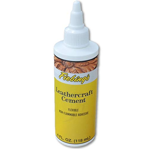 Fiebings Cement Leathercraft 4 oz Tanners Bond Glue (Repair Furniture Mn)
