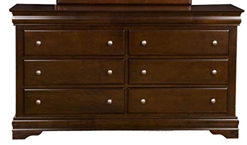 Alpine Furniture 3201 Chesapeake Dresser, - Alpine Dresser Bedroom