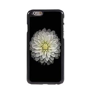 SHOUJIKE White Lotus Design Aluminium Hard Case for iPhone 6 Plus