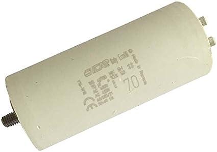 70UF pour moteur Pompe à chaleur Condensateur de démarrage de 70μF